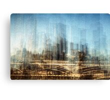Ghosts of the civil yesterday Canvas Print