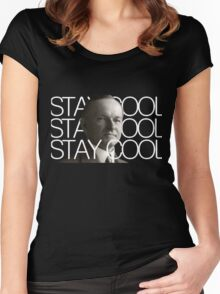 Stay Cool with Coolidge! Women's Fitted Scoop T-Shirt