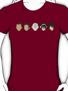 Team Avatar graphic heads T-Shirt