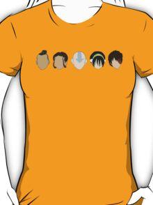 Team Avatar graphic heads T-Shirt