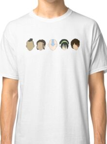Team Avatar graphic heads Classic T-Shirt