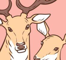 Deer Lovers Sticker