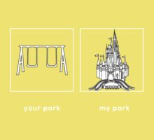 Your park, my park - WDW Kids Tee