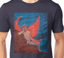 Contemplation of the Falling Unisex T-Shirt