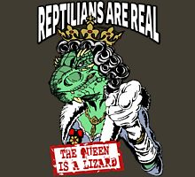 Reptilians Are Real - The Queen Is A Lizard Unisex T-Shirt