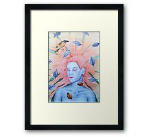 Hair Framed Print
