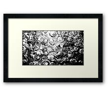 Bubbly View Framed Print