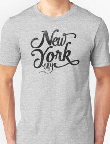 New York City vintage typography T-Shirt