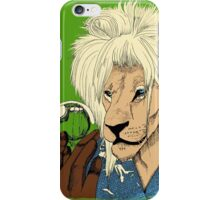 Goblin King of the Jungle (full color) iPhone Case/Skin