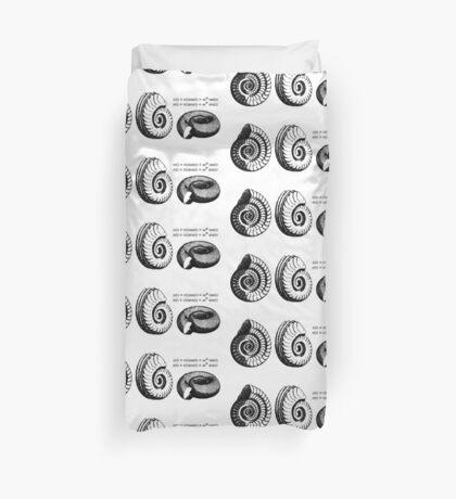 Math Spiral Shells Duvet Cover