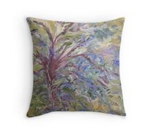 Looking up at the Oak Tree Throw Pillow