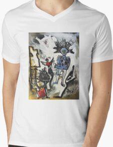 Destruction of Radiance Mens V-Neck T-Shirt