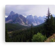 Valley of the Ten Peaks Canvas Print
