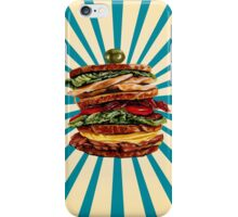 Turkey Club on Rye iPhone Case/Skin