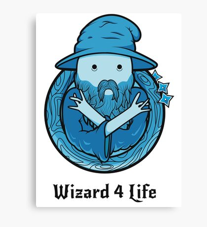 Wizard 4 Life Canvas Print