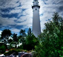 Wind Point Lighthouse by Jigsawman