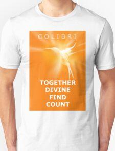 Ho'oponopono Colibri -  Prosperity Switchwords T-Shirt