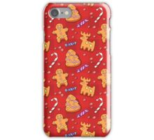 Gingerbread Cookies iPhone Case/Skin