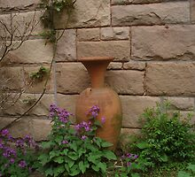 Old Pot Old Wall Yengo Mt Wilson  by heidiypi1
