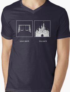 Your park, My park- DL Mens V-Neck T-Shirt