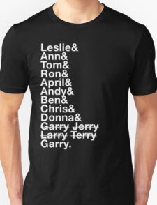 Parks and Recreation ROLL CALL Unisex T-Shirt