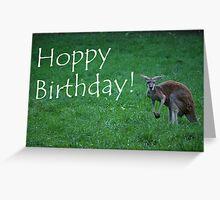 Hoppy Birthday Card  Greeting Card