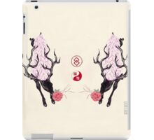 Deer and Camellia iPad Case/Skin