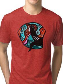 Geisha Tee Tri-blend T-Shirt