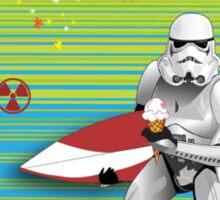 Sci-Fi. Surfing. Summer.  Sticker