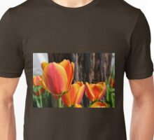 Orange and Yellow Tulips Unisex T-Shirt