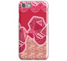 Lucky Dice - Pink iPhone Case/Skin