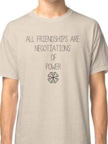 Friendship is Power Classic T-Shirt