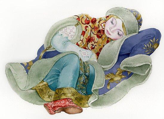 Snowgirl by Masha Kurbatova