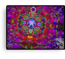 Volant Matrix Canvas Print