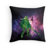 Galaxy Link Throw Pillow