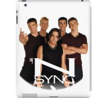 'N SYNC ('90s Edition) iPad Case/Skin