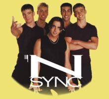 'N SYNC ('90s Edition) One Piece - Short Sleeve