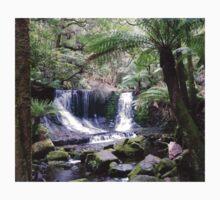 Russell Falls, Tasmania One Piece - Long Sleeve