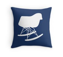 Eames Rocker - Inverted Throw Pillow