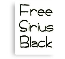 Free Sirius Black  Canvas Print