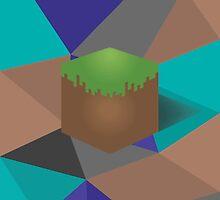 minecraft polygon by Émil Lauzon