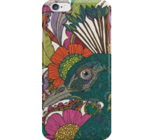 Alexis and the flowers iPhone Case/Skin