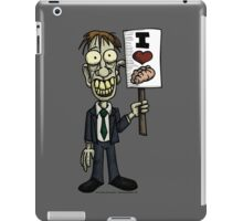 I Heart Brains iPad Case/Skin