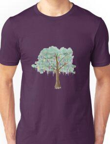 Mardi Gras Tree - watercolor Unisex T-Shirt