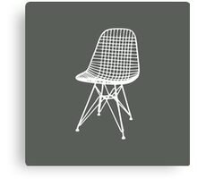 Eames Wire Chair - Inverted Canvas Print