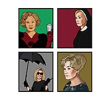 American Horror Story: Jessica Lange Photographic Print
