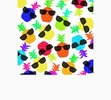 """Seriously Cool Ananas"" - Ananas Fruit Tropical Hot Pink Neon Fuchsia Fluorescent Orange Green Teal Purple Ultraviolet Yellow Sunglasses Lime Cool Super Fantastic Silly Cute Funny Humor   T-Shirt"