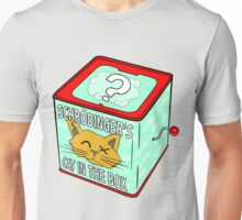 Schrödinger's Cat in the Box Unisex T-Shirt