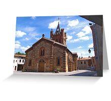 St-Martin d'Oydes Greeting Card