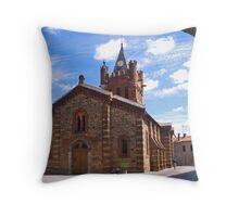 St-Martin d'Oydes Throw Pillow
